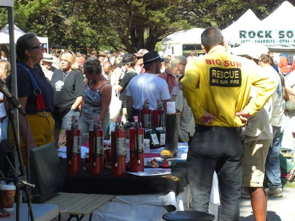 Big Sur Fire Booth